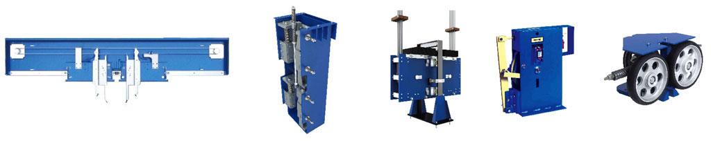 Các thành phần chính tăng độ an toàn thang máy